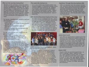 original OED brochure, inside image